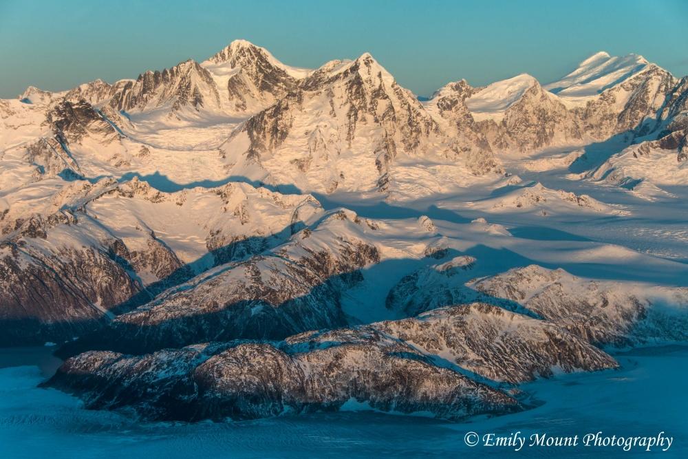 Fairweather Mountains Sunrise