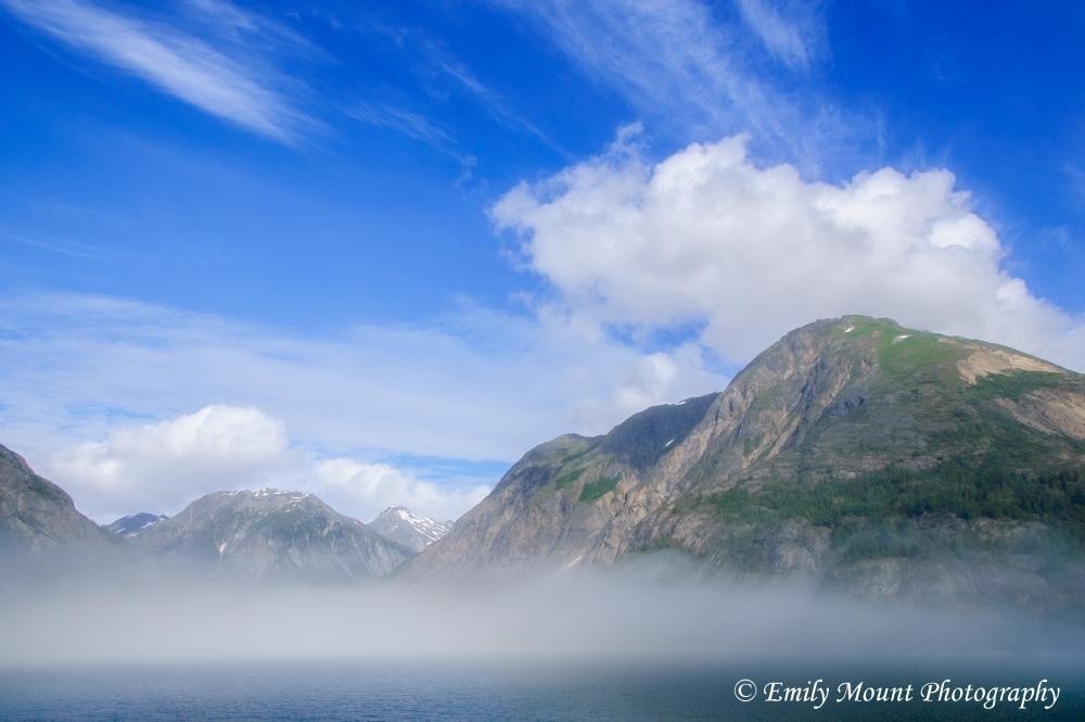 Glacier Bay clouds