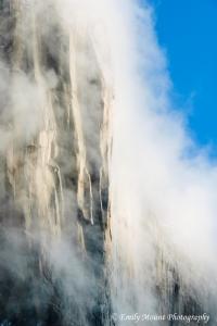 El Capitan in Fog
