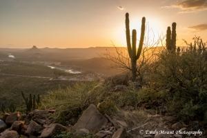 Sunset Baja