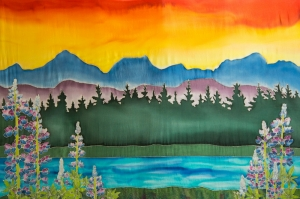 Fairweather Mountains Sunset