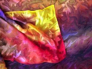 Fall Print scarf