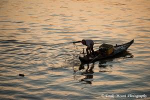 Fishing Mekong River