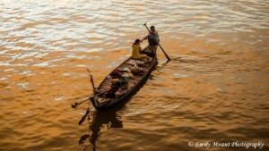 Vietnam Sunset Boat
