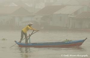 Vietnamese Woman on Mekong